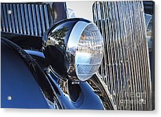 1936 Ford 2dr Sedan Acrylic Print by Gwyn Newcombe