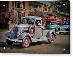 Acrylic Print featuring the photograph 1936 Gmc T-14 Pickup  by Susan Rissi Tregoning