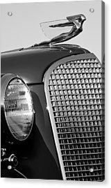 1937 Cadillac V8 Hood Ornament 3 Acrylic Print