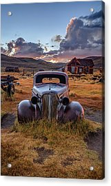 1937 Chevy At Sunset Acrylic Print