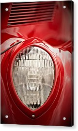 1937 Ford Headlight Detail Acrylic Print