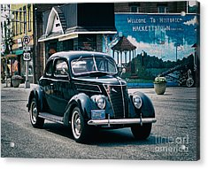 1937 Ford Sedan Acrylic Print