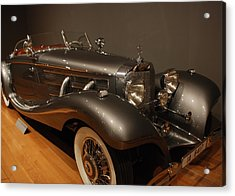 1937 Mercedes Benz 540 Special Roadster Acrylic Print by Renee Holder
