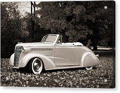 1938 Chevrolet Convertible Acrylic Print