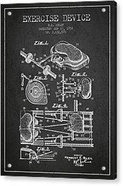 1938 Exercise Device Patent Spbb09_cg Acrylic Print
