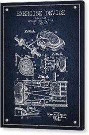 1938 Exercise Device Patent Spbb09_nb Acrylic Print