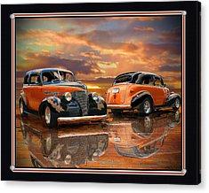 1939 Chevy Acrylic Print by John Breen