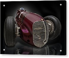 1939 Maserati 8ctf Indy Racer Acrylic Print by Gary Warnimont