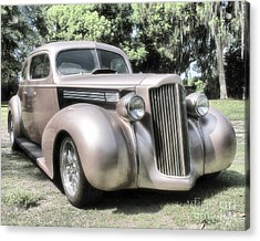 1939 Packard Coupe Acrylic Print by Richard Rizzo