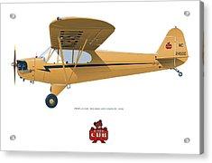 1939 Piper J3 Cub Acrylic Print