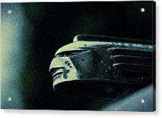 1939 Pontiac Silver Streak Hood Ornament Acrylic Print