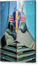 1940 Dodge Business Coupe Emblem Acrylic Print by Jill Reger