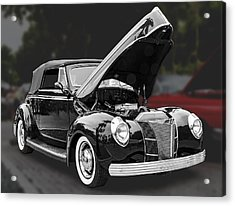 1940 Ford Deluxe Automobile Acrylic Print