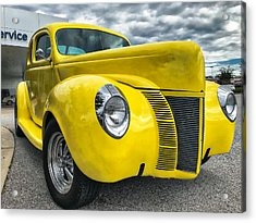 1940 Ford Deluxe Coupe Acrylic Print