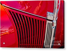 1940 Ford Pickup Grill Acrylic Print