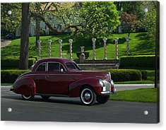1940 Mercury Coupe Acrylic Print by Tim McCullough