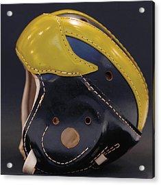 1940s Leather Wolverine Helmet Acrylic Print