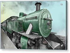 1940's Steam Train Acrylic Print