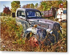1941 Ford Truck Acrylic Print by Mark Allen
