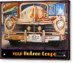 1946 Hudson Acrylic Print