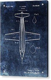 1946 X1 Patent Acrylic Print