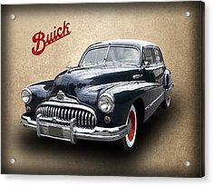 1947 Buick 8 Acrylic Print by Daniel Hagerman