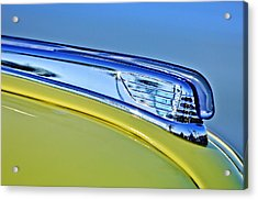 1947 Ford Super Deluxe Hood Ornament 2 Acrylic Print by Jill Reger