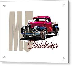 1947 M5 Studebaker Pickup Acrylic Print
