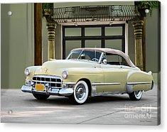 1948 Cadillac  Series 62convertible   Acrylic Print