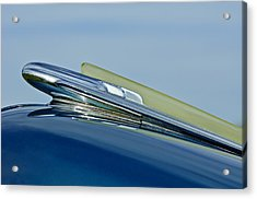1948 Chevrolet Fleetline Hood Ornament Acrylic Print by Jill Reger