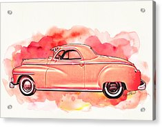 1948 Dodge Coupe As Seen In Luckenbach Texas By Vivachas Acrylic Print
