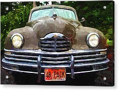 1948 Packard Super 8 Touring Sedan Acrylic Print by Thom Zehrfeld
