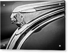 1948 Pontiac Chief Hood Ornament 2 Acrylic Print by Jill Reger