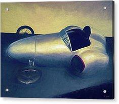 1948 Rocket Car Acrylic Print by Tony Grider