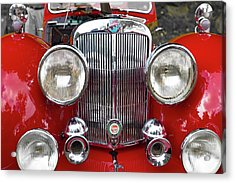 1948 Triumph 1800 Roadster Acrylic Print by Jack R Perry