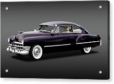 Acrylic Print featuring the photograph 1949 Cadillac Two Door Sedan  -  1949caddy2doorsedanfa172173 by Frank J Benz