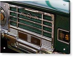 1949 Plymouth Coupe Radio Acrylic Print