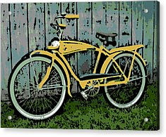 1949 Shelby Donald Duck Bike Acrylic Print