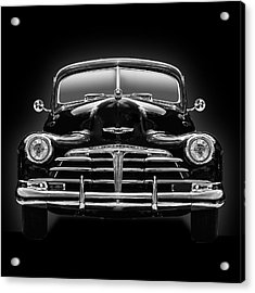 1950 Chevy Acrylic Print by Gary Warnimont