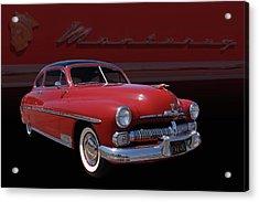 1950 Mercury Monterey Acrylic Print