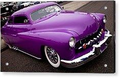 1950 Purple Mercury Acrylic Print by David Patterson