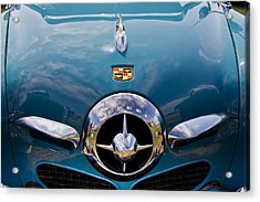 1950 Studebaker Acrylic Print by Roger Mullenhour