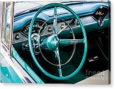 Acrylic Print featuring the photograph 1955 Chevrolet Bel Air by M G Whittingham