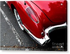 Acrylic Print featuring the photograph 1959 Corvette by M G Whittingham