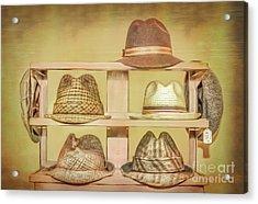 1950s Hats Acrylic Print