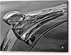 1951 Dodge Pilot House Pickup Hood Ornament 2 Acrylic Print by Jill Reger