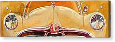 1951 Hudson Hornet Acrylic Print by Ron Patterson