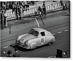 1951 Porsche At Le Mans - Doc Braham - All Rights Reserved Acrylic Print