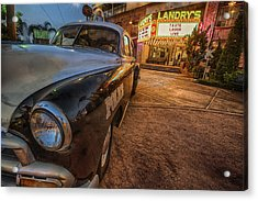 1952 Chevy  Acrylic Print by Kathy Adams Clark