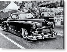 1951 Chevy Kustomized  Acrylic Print by Ken Morris